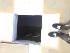 地下入り口