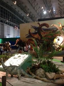 メガ恐竜展2015
