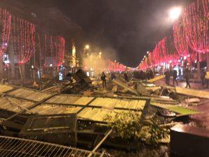 フランスのデモ